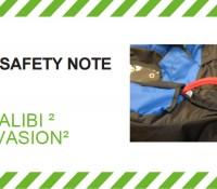 Alerta de Segurança – Seletes SupAir Walibi 2 e Evasion 2